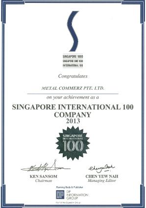 Singapore-International-100---Certificate-of-Achievement-Year-2013