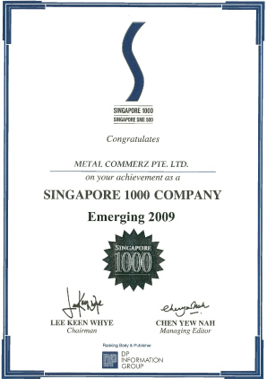 Singapore-SME-1000---Certificate-of-Achievement-Emerging-Year-2009